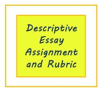 Descriptive college essay