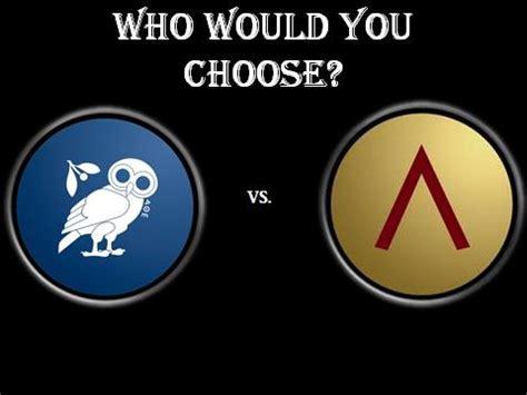 free essay on Sparta VS Athens