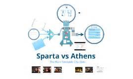 Athens Vs Sparta - Essay - EssaysForStudentcom